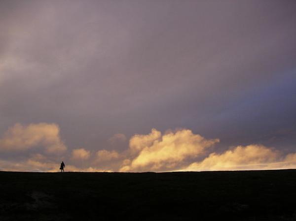 alone on the horizon
