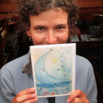 Jenny with whale picture