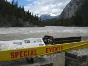 Bow river flood