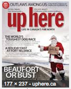 up here cover, December 2013