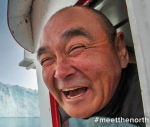 Greenland smiles