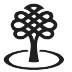 Canada council logo, black & white tree