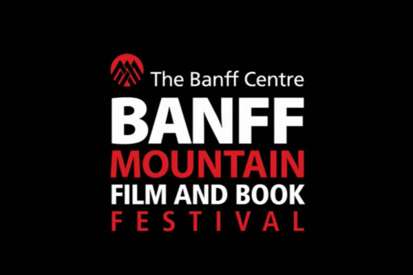 Banff Festival logo in white and red