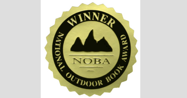 National Outdoor Book Award medallion