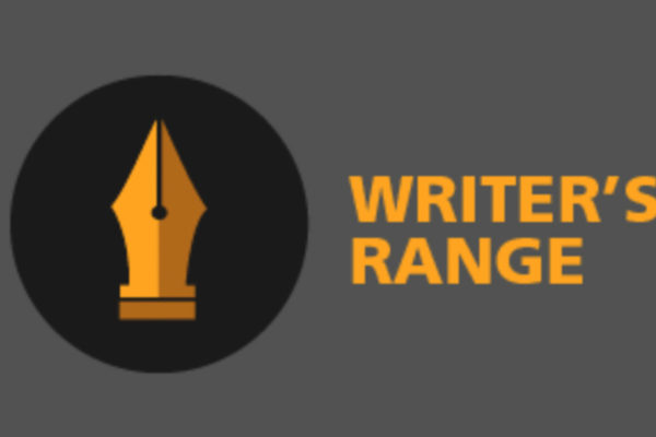 Writers Range logo, fountain pen