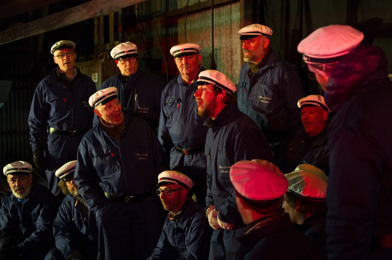 Men's choir Svalbard