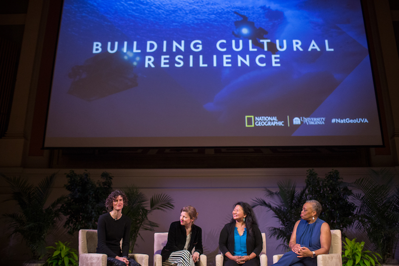 Jenny spoke at a National Geographic event.